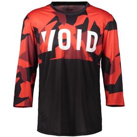 VOID Orbit Jersey Manga Larga Hombre, red shield